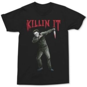 Mike Myers Men's Killin' It T-Shirt Black T-Shirt